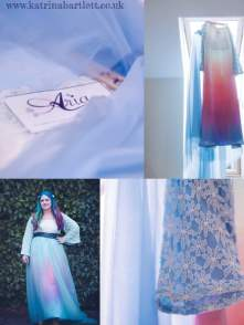 """The Stunningly Unique """"Kristel"""" Gown. The Hughes Wedding 2017 Phot Credit: Katrina Bartlett Photography"""